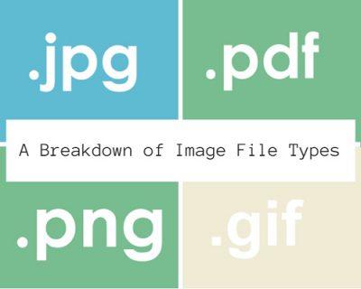 A Breakdown of Types of Files