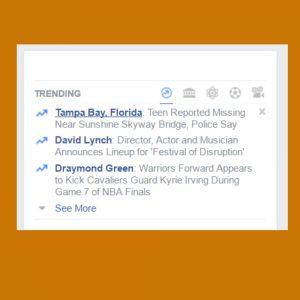 Facebook Trends On Social Media