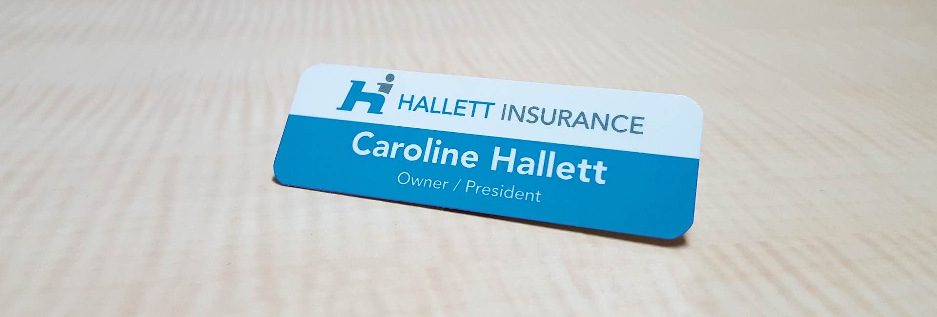 hallettinsurance-nametag