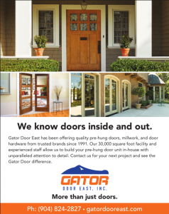 Gator Door East Magazine Ad