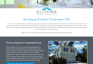 R.V. Cooper Construction Site Design