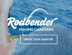 Rodbender Fishing Logo Design