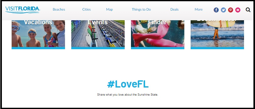 Voice branding by Visit Florida.