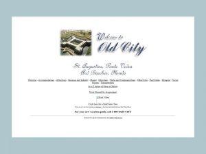 OldCity.com's website in 1998.